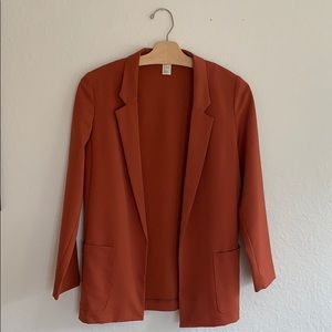 H&M Rust Fall Blazer (4)